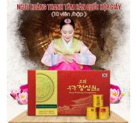 An cung ngưu hoàn Bio Apgold hộp 10 viên Woohwang Cheongsimwon